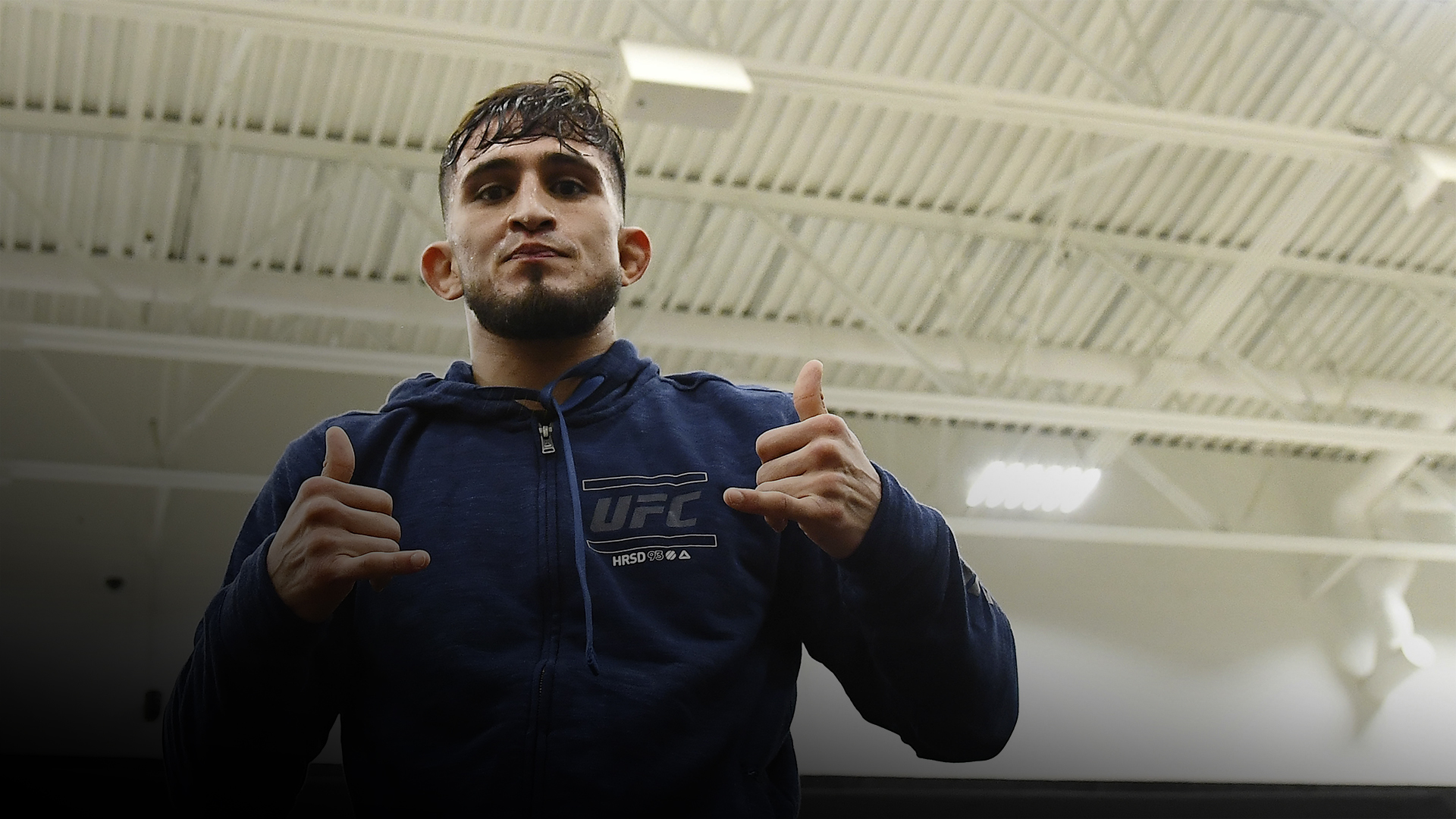 MILWAUKEE, WISCONSIN - DECEMBER 12: Sergio Pettis participates in open workouts on December 12, 2018 in Milwaukee, Wisconsin. (Photo by Stacy Revere/Zuffa LLC/Zuffa LLC)