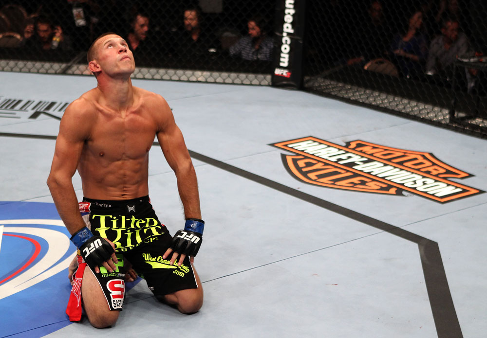 Donald Cerrone after his win