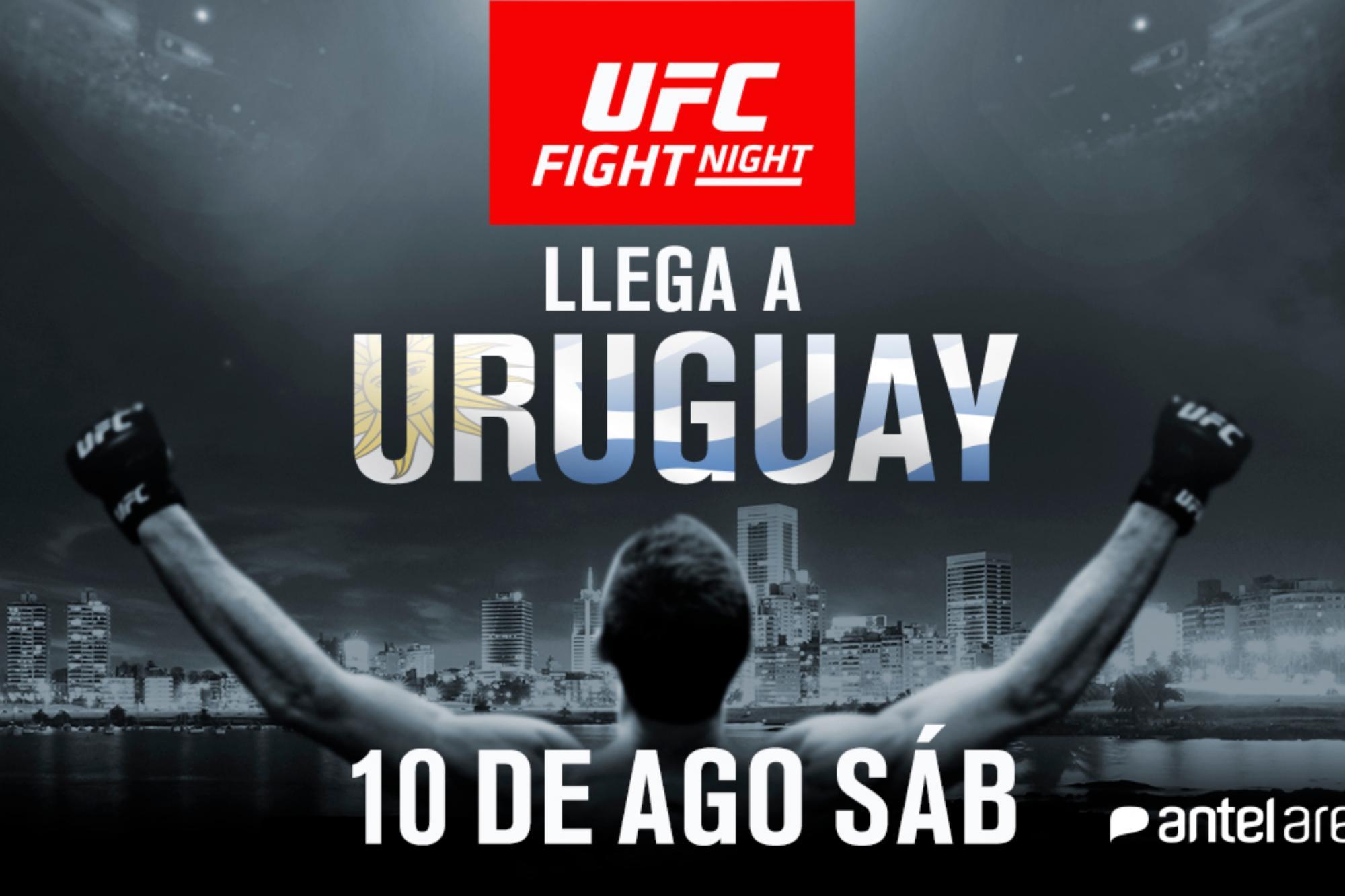 Resultado de imagem para ufc uruguai
