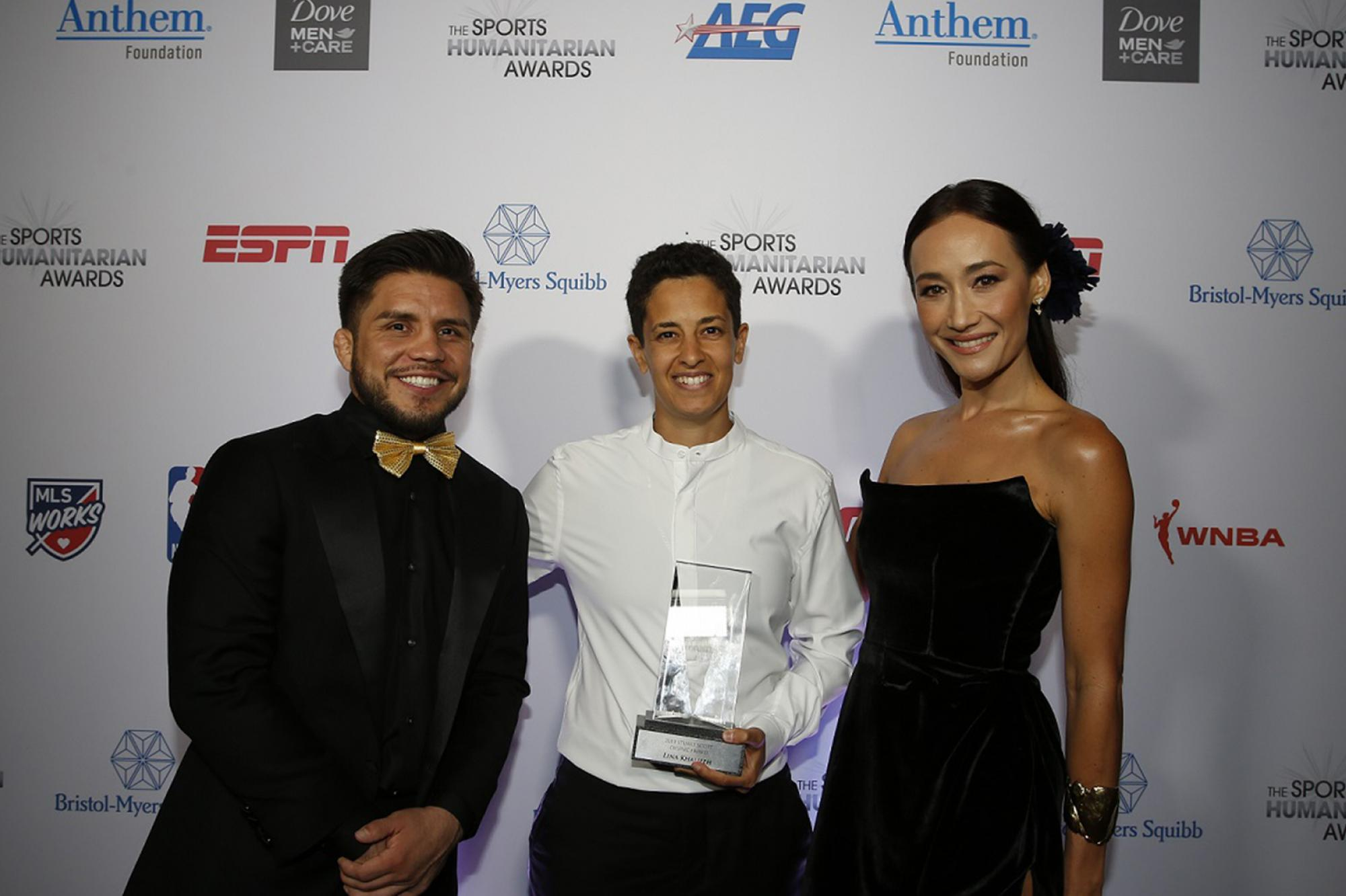 UFC Presents Stuart Scott ENSPIRE Award At Sports Humanitarian Awards