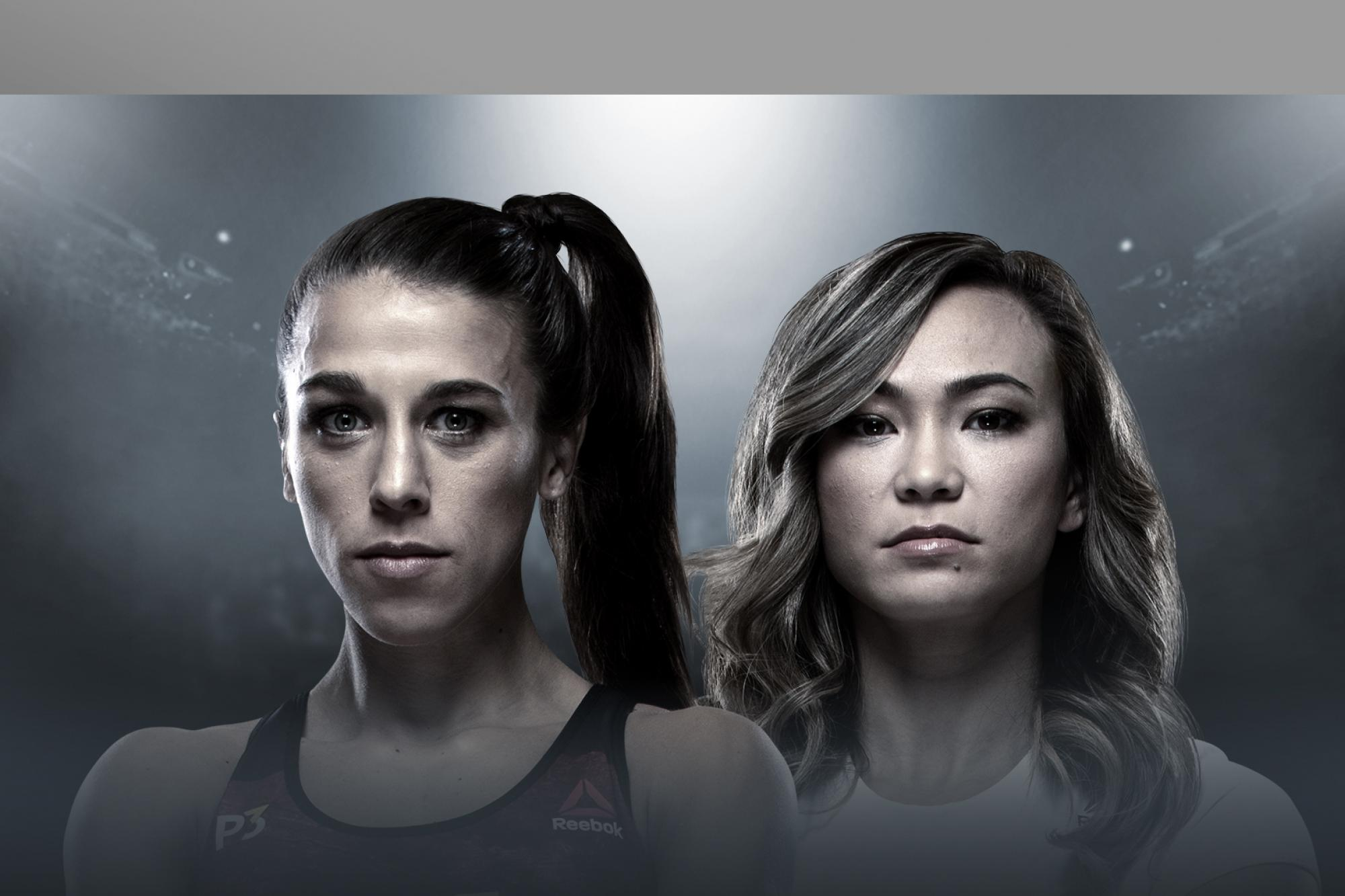 Image result for joanna vs Waterson ufc tampa posters