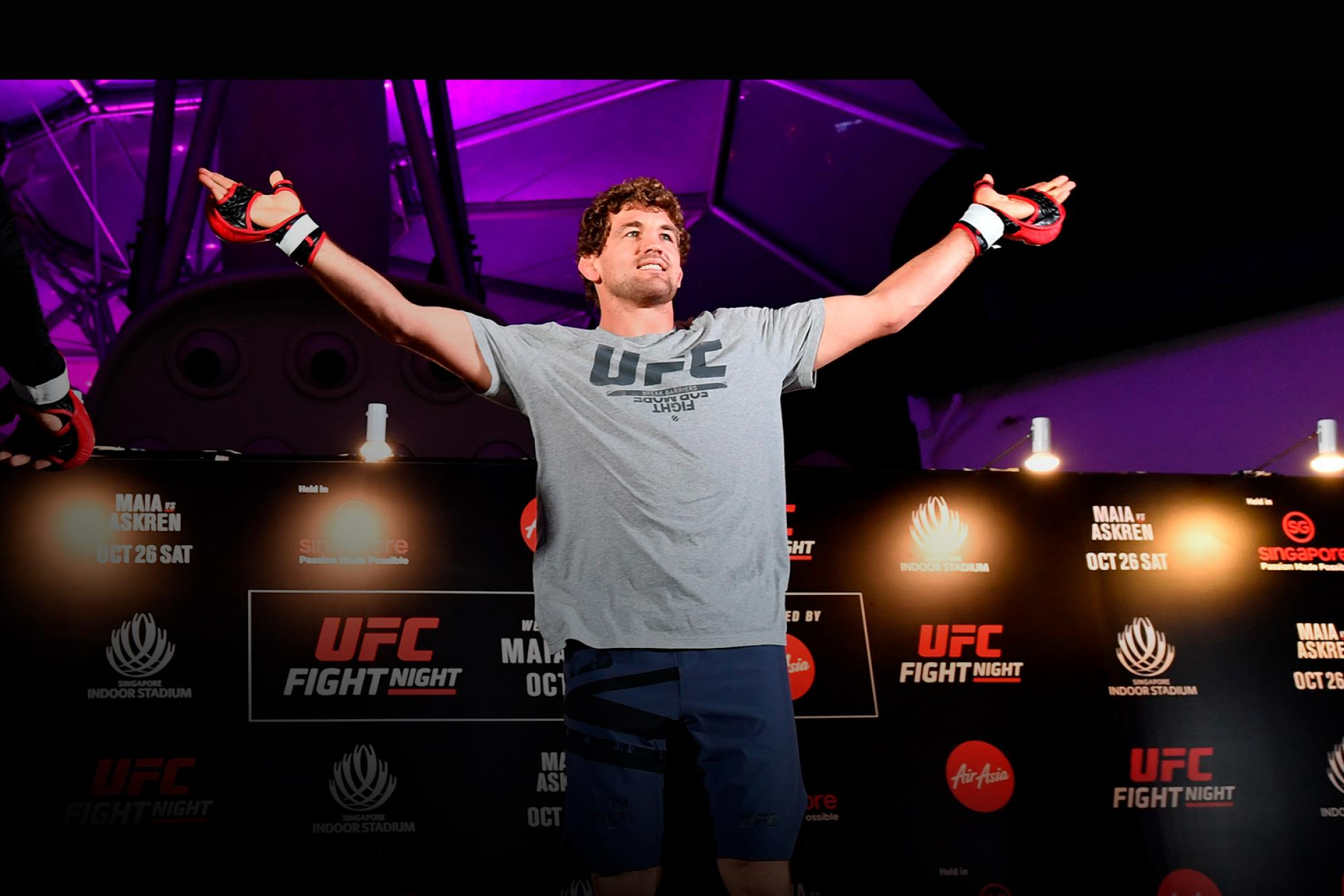 Ben Askren Aims To Bounce Back Quickly | UFC