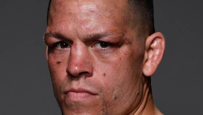 Nate Diaz Backstage After UFC 241