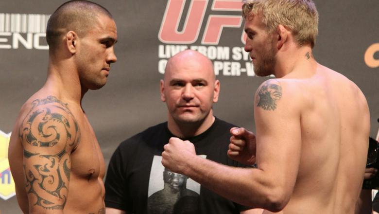 UFC 127 Weigh-in: Te Huna vs. Gustafsson