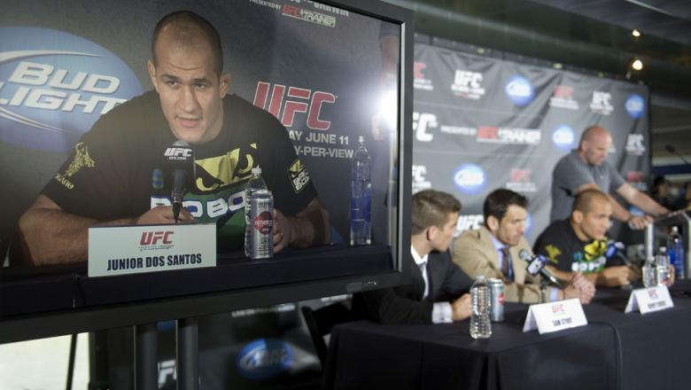 Junior dos Santos, Kenny Florian & Sam Stout