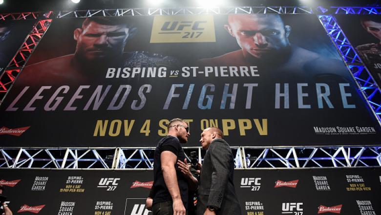 Nesse sábado (4), o campeão dos médios Michael Bisping e a lenda Georges St-Pierre se enfrentam em duelo histórico no UFC 217, no Madison Square Gardem, em Nova York.