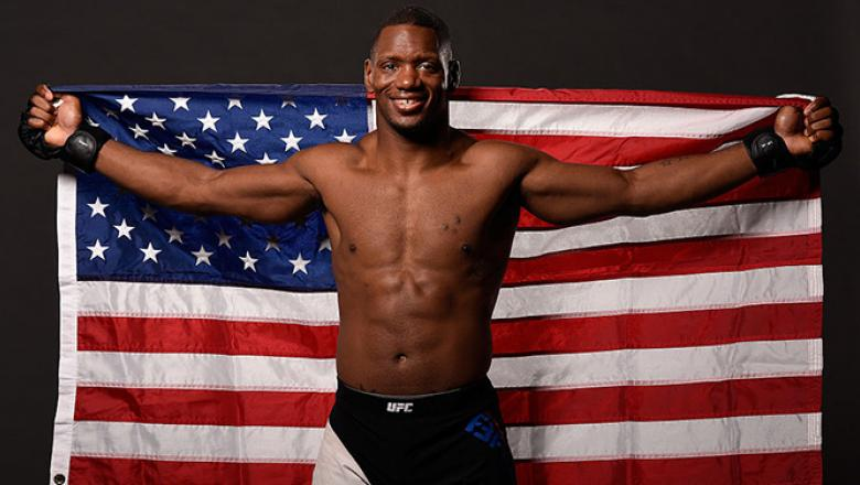 LAS VEGAS, NV - JULY 08:  Will Brooks poses for a portrait backstage after his victory over Ross Pearson of England during The Ultimate Fighter Finale event at MGM Grand Garden Arena on July 8, 2016 in Las Vegas, Nevada.  (Photo by Todd Lussier/Zuffa LLC/