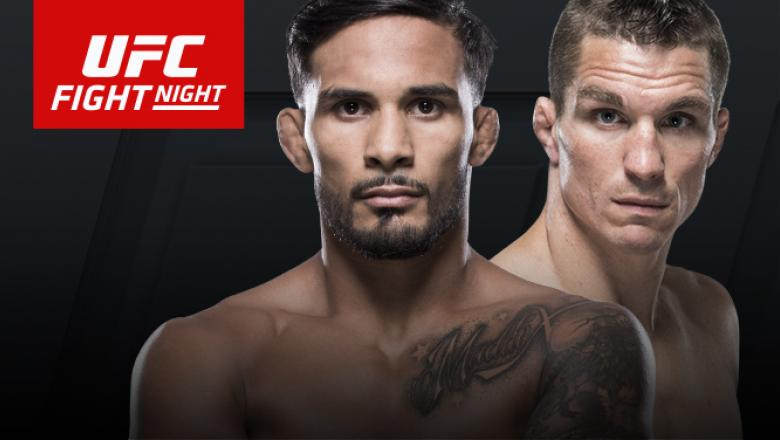 UFC Fight Night: Long Island Dennis Bermudez Darren Elkins July 22 2017