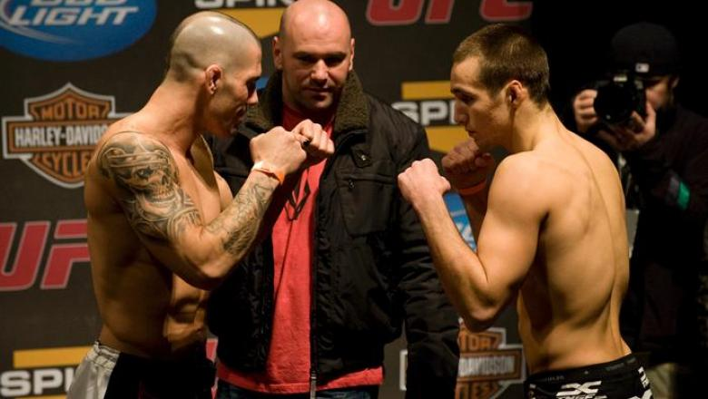 UFC Fight Night Weigh-In Mike Guymon & Rory MacDonald
