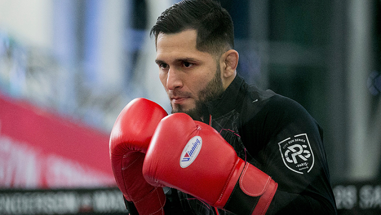 SEOUL, SOUTH KOREA - NOVEMBER 25:  Jorge Masvidal holds an open workout for fans and media during UFC Fight Night Open Workouts at Times Square on November 25, 2015 in Seoul, South Korea.  (Photo by Han Myung-Gu / Zuffa LLC/Zuffa LLC via Getty Images)