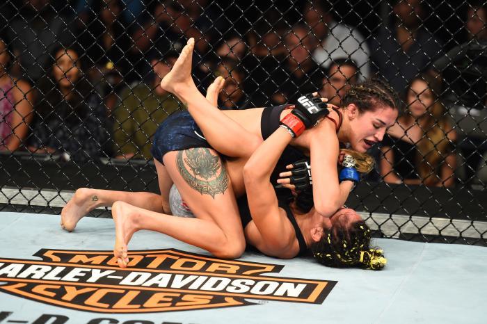 UFC 228: Esparza v Suarez
