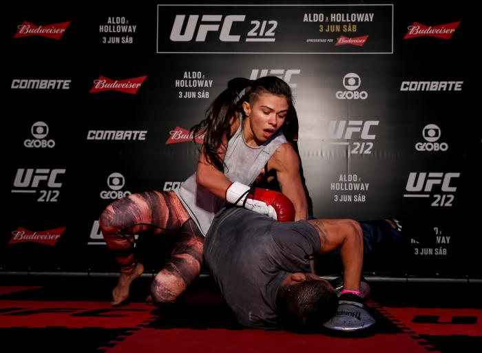 UFC 212: Open Workouts