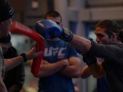 Brian Ortega at UFC 231 Open Workouts