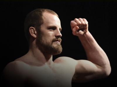 Gunnar Nelson of Iceland poses on the scale during the UFC 231 weigh-in at Scotiabank Arena on December 7, 2018 in Toronto, Canada. (Photo by Jeff Bottari/Zuffa LLC)