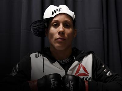 NEW YORK, NY - NOVEMBER 12: Liz Carmouche of the United States prepares for her bantamweight bout against Katlyn Chookagian of the United States during the UFC 205 event at Madison Square Garden on November 12, 2016 in New York City. (Photo by Brandon Magnus/Zuffa LLC/Zuffa LLC via Getty Images)