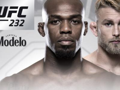 UFC 232 Jon Jones vs Alexander Gustafsson