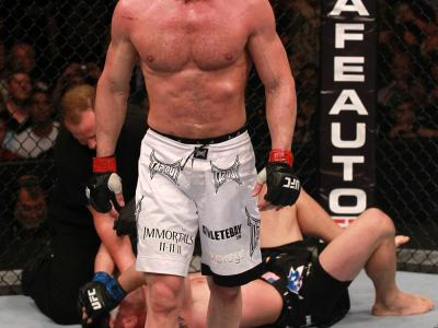 Chael Sonnen after his win over Brian Stann
