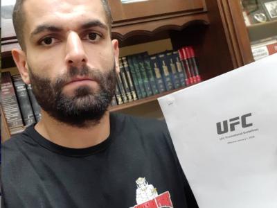 Luiz Garagorri UFC contract