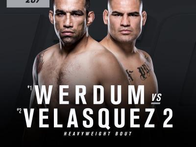 UFC 207: Fabricio Werdum vs Cain Velasquez fight announcement (English)