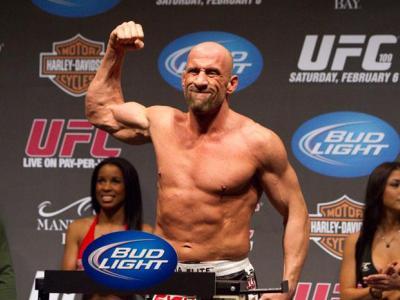 UFC 109 Weigh-In Mark Coleman