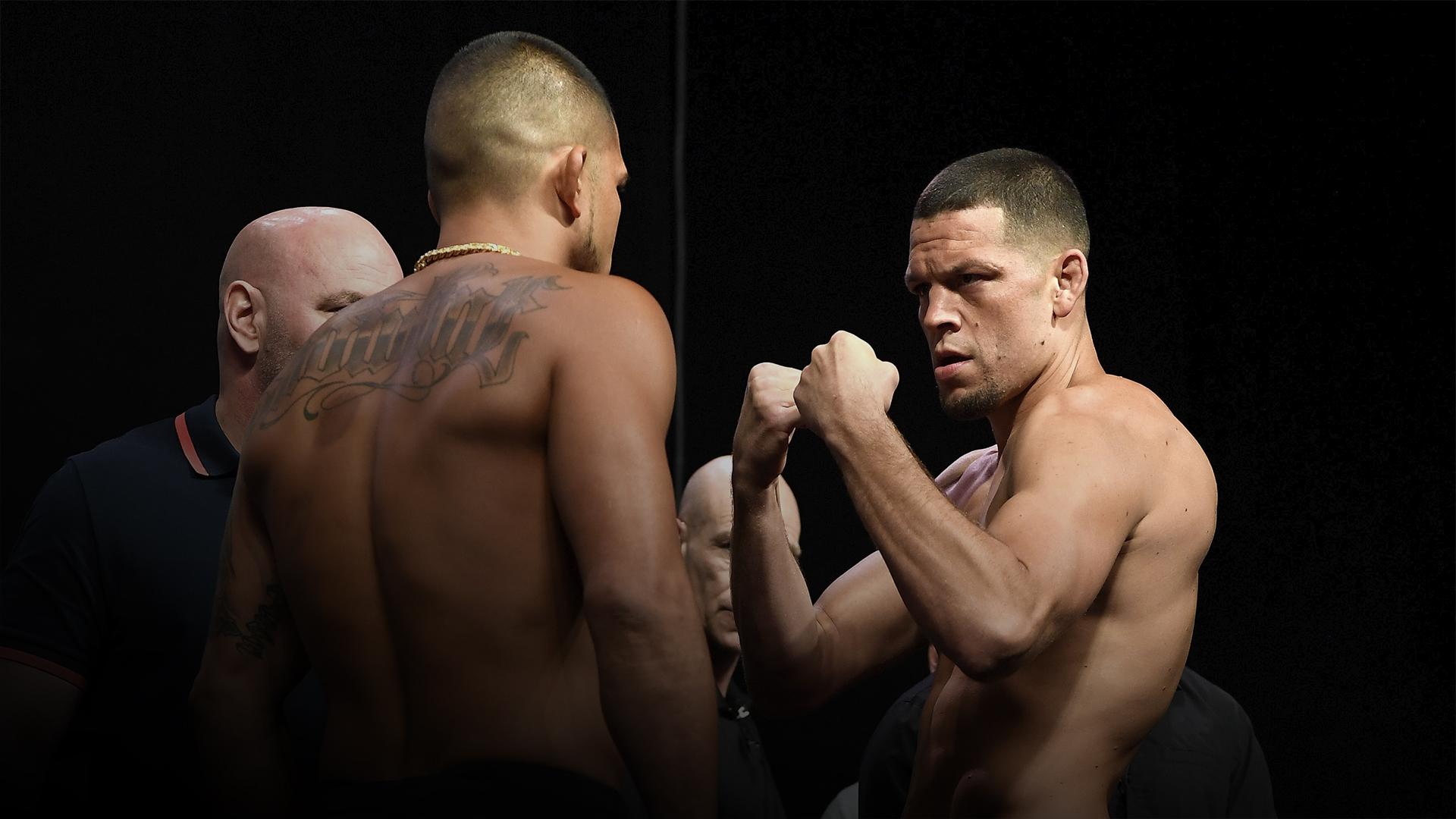 Anthony Pettis vs Nate Diaz