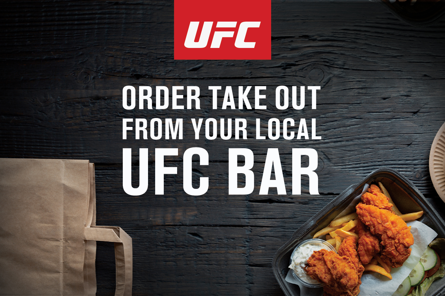 Visit UFC Bars for Takeout Options