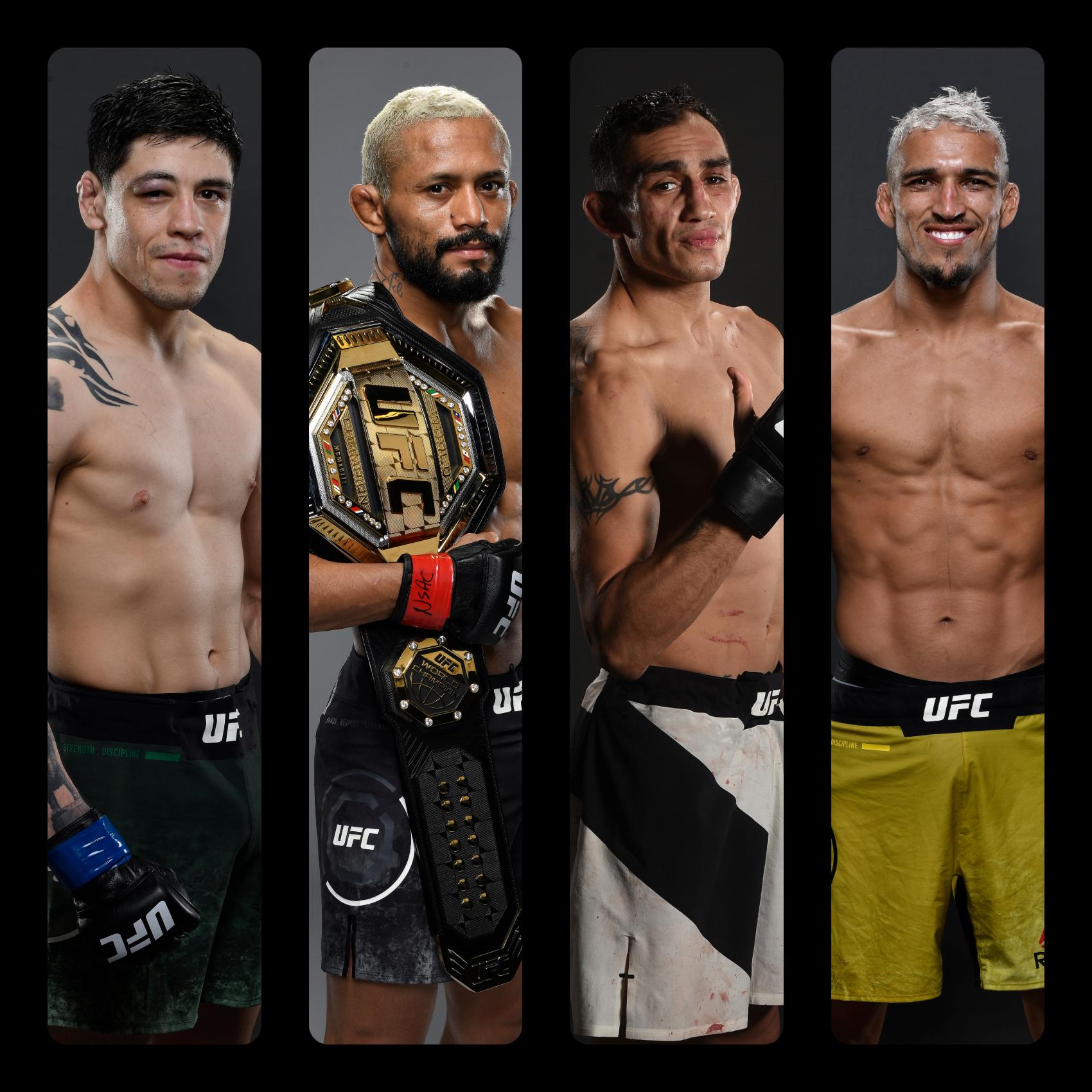 UFC 256 Main Co- Main Figueiredo Ferguson Oliveira Moreno