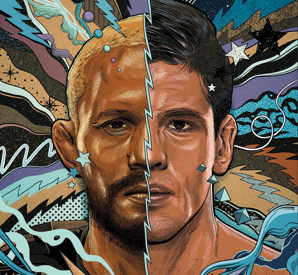 UFC 256 Event Art By Pedro Correa @pedrocorrea84 Figueiredo Moreno