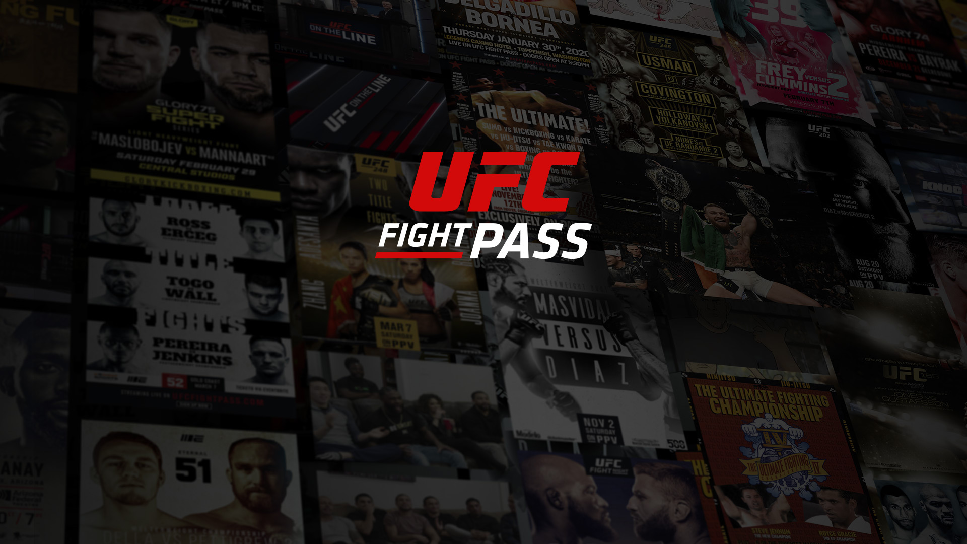 Don't miss any MMA action: subscribe to UFC Fight Pass today!