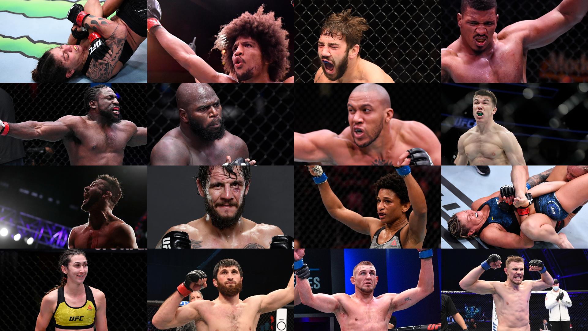 UFC Fight Night Rozenstruik vs Gane Athletes
