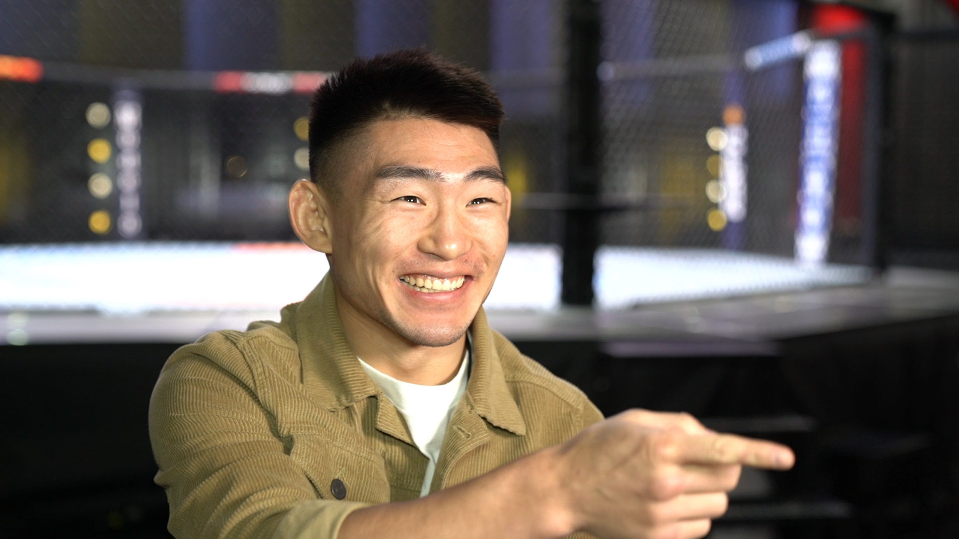 Song Yadong at the UFC Apex, March 2021