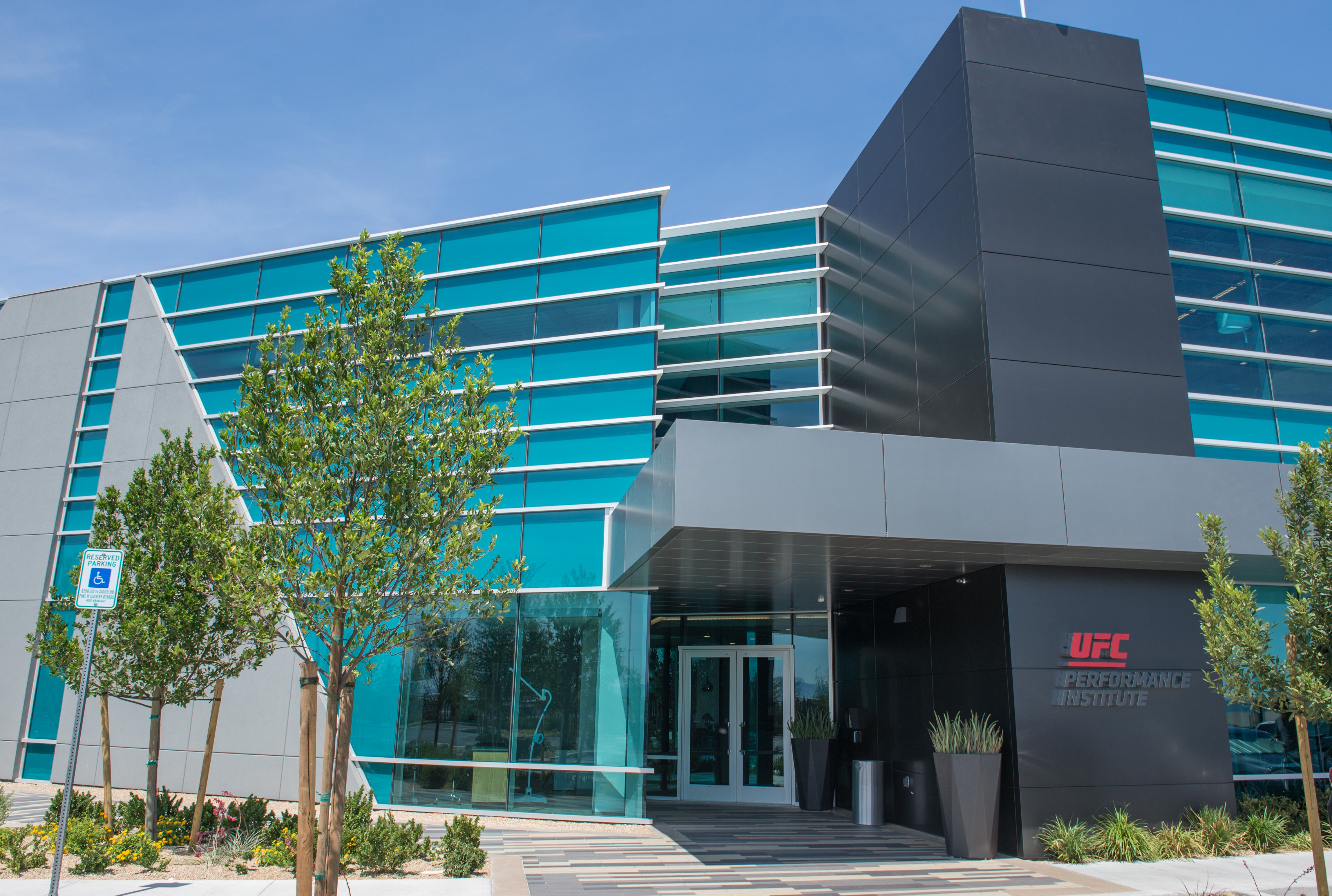 A General Image Of The UFC Performance Institute