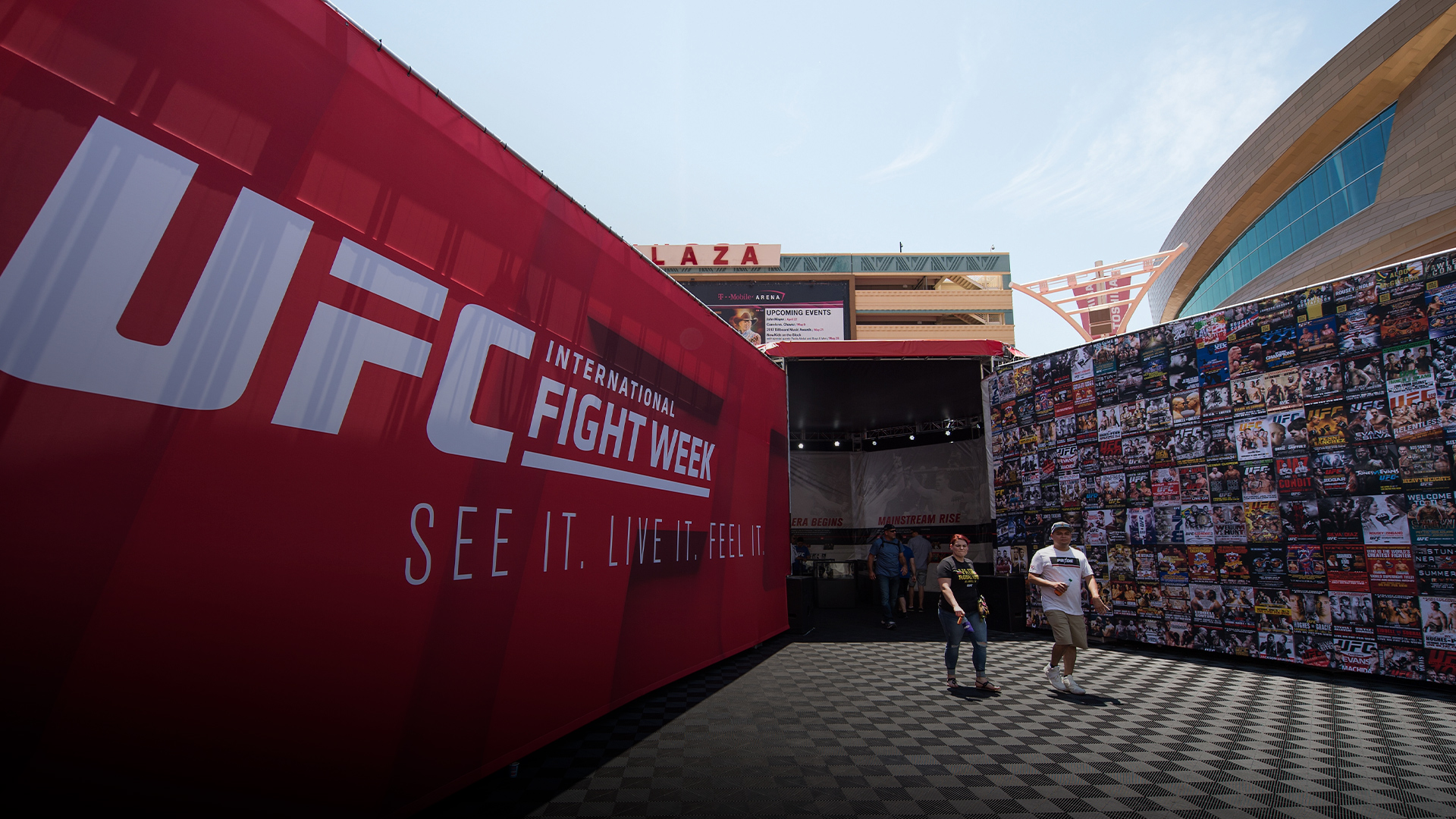 A general view of the UFC Fan Experience at T-Mobile Arena on July 7, 2017 in Las Vegas, Nevada. (Photo by Brandon Magnus/Zuffa LLC)