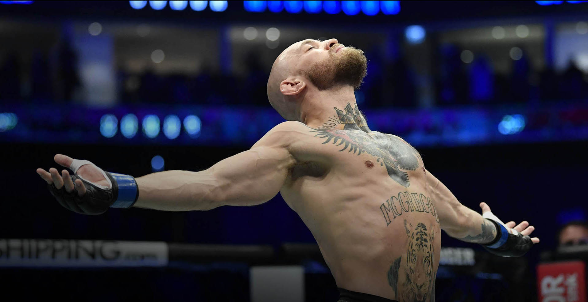 Conor McGregor Enters The Octagon At UFC 257