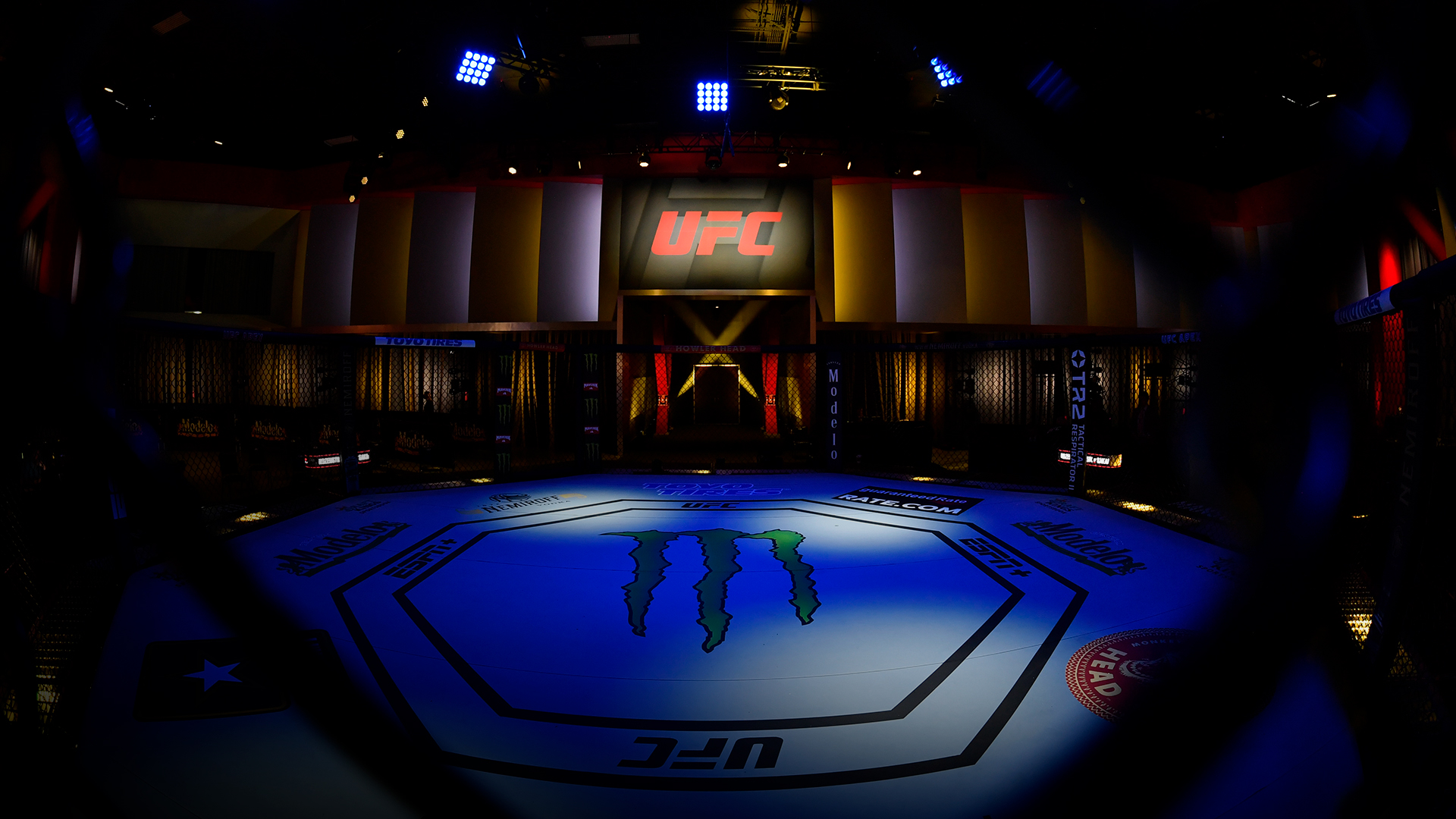 A general view of the Octagon prior to the UFC Fight Night event at UFC APEX on June 05, 2021 in Las Vegas, Nevada. (Photo by Jeff Bottari/Zuffa LLC)A general view of the Octagon prior to the UFC Fight Night event at UFC APEX on June 05, 2021 in Las Vegas, Nevada. (Photo by Jeff Bottari/Zuffa LLC)
