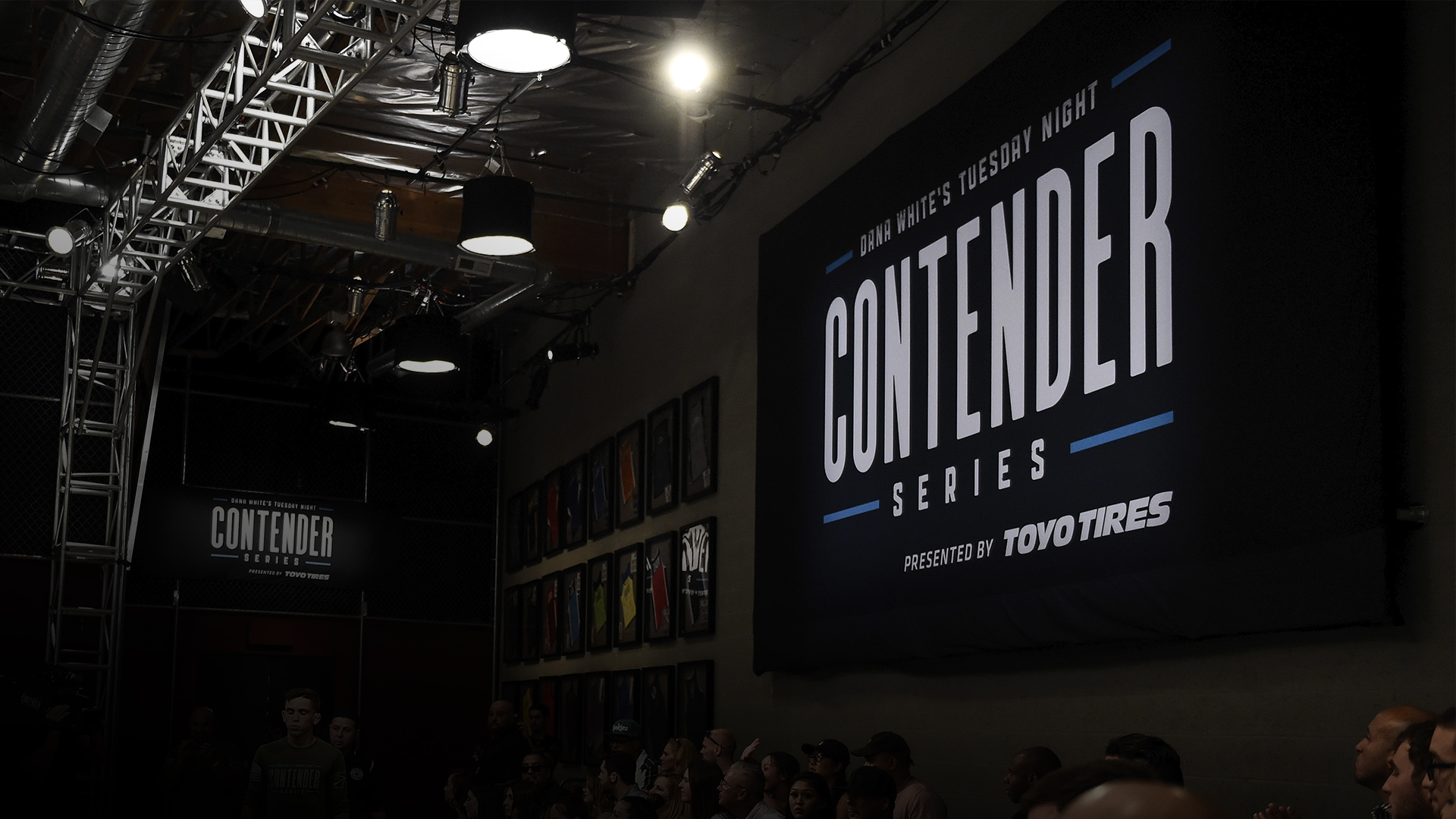 A general image of Dana White's Tuesday Night Contender Series on July 11th, 2017 (photo by Brandon Magnus/ Zuffa LLC)