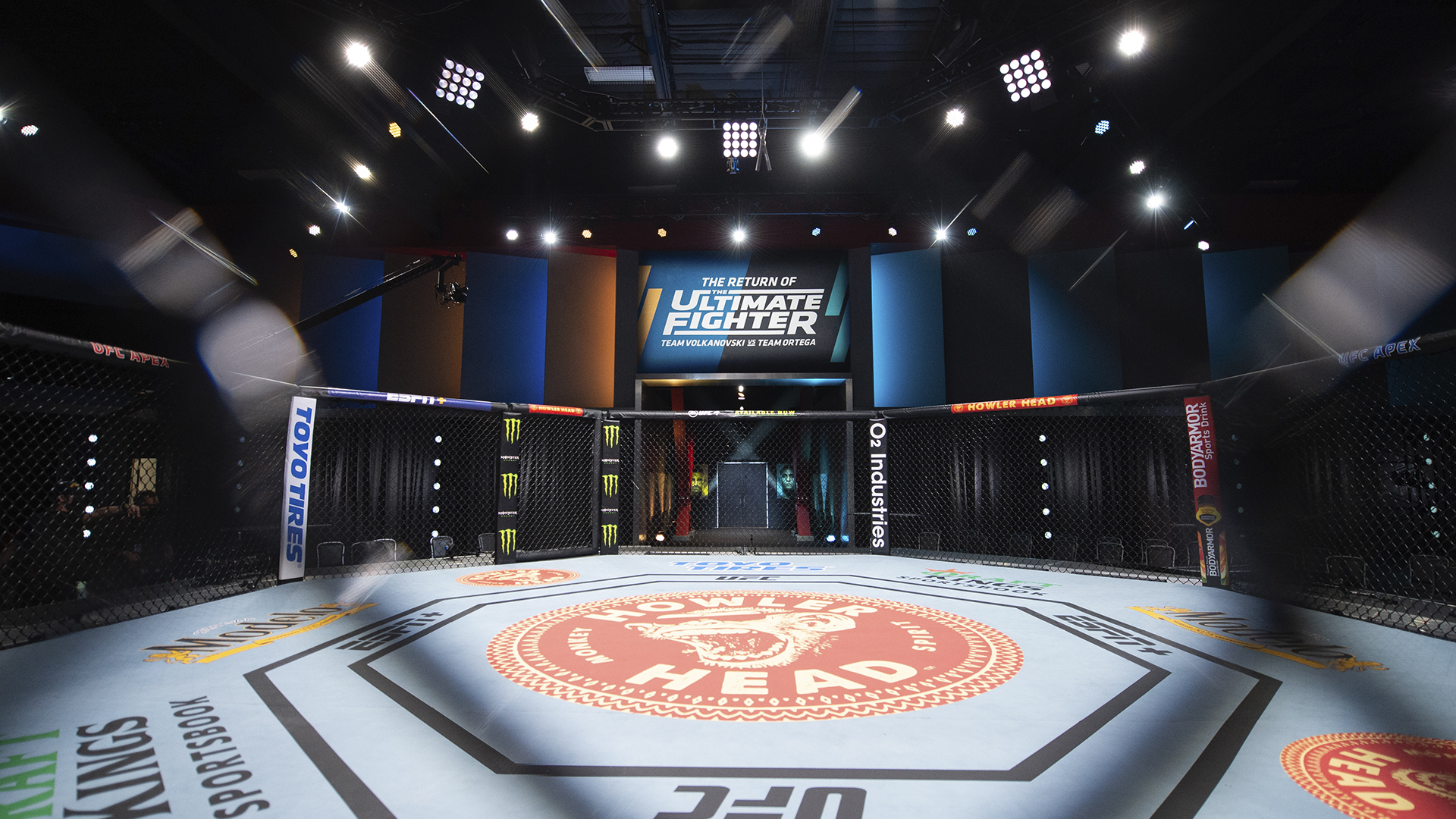 The Return Of The Ultimate Fighter hosted inside the UFC APEX in Las Vegas, NV.