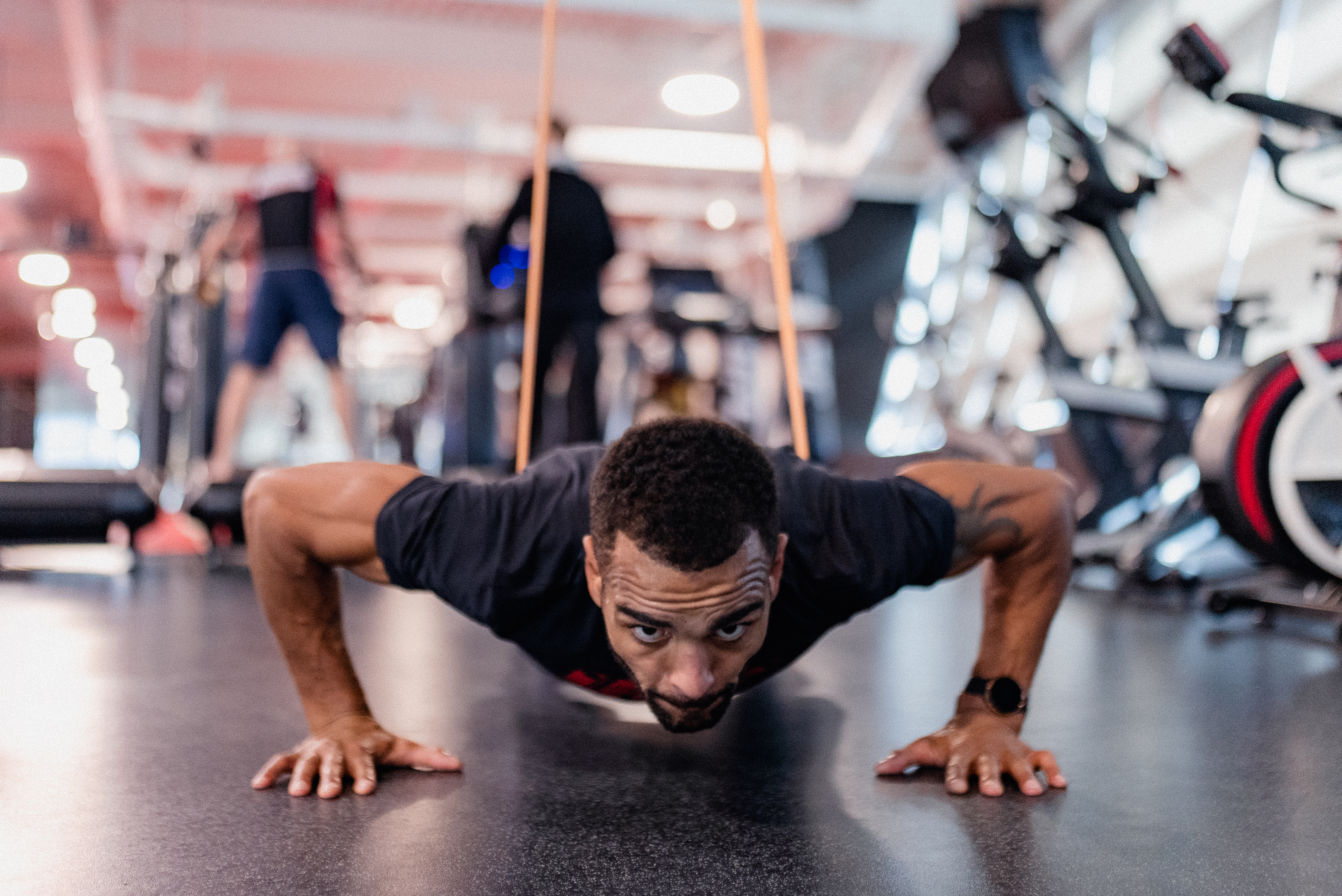 Danny Roberts trains at the UFC Performance Institute on October 13, 2021. (Photo by Zac Pacleb)