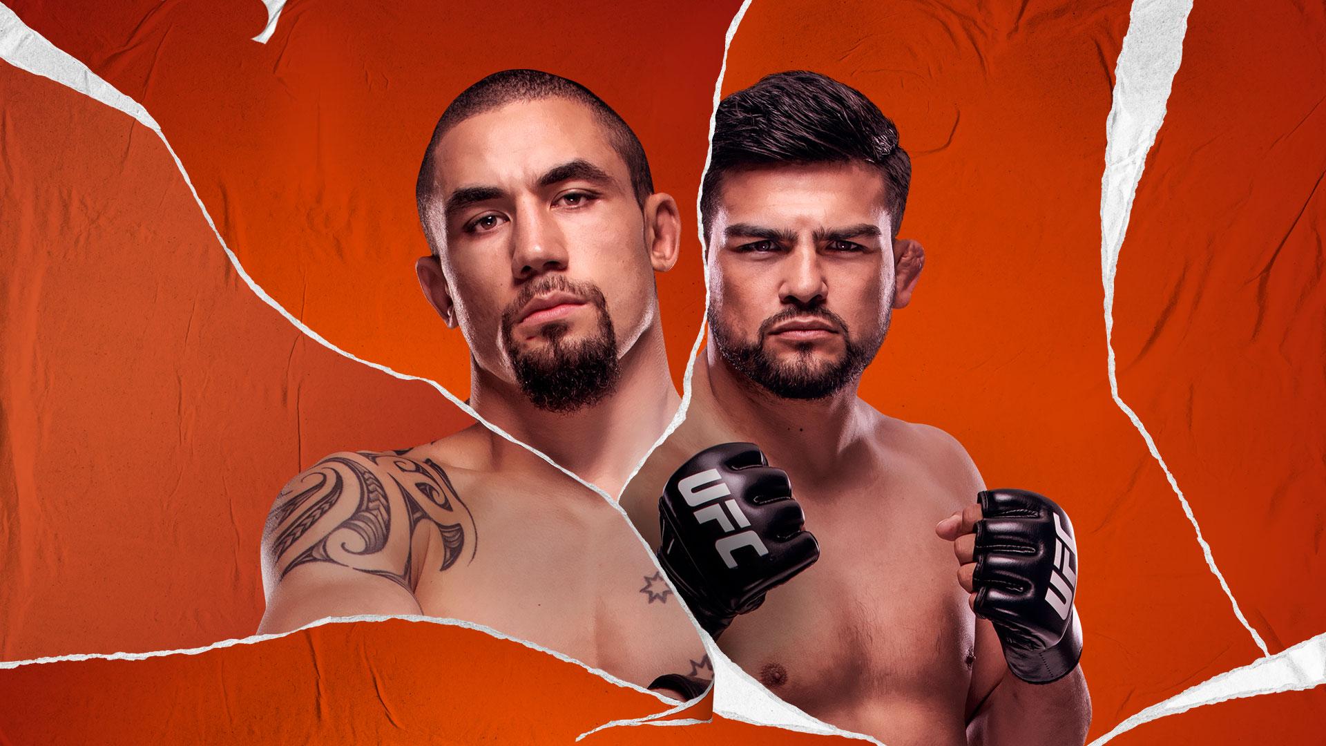 UFC VEGAS 24 ROBERT WHITTAKER VS KELVIN GASTELUM hero