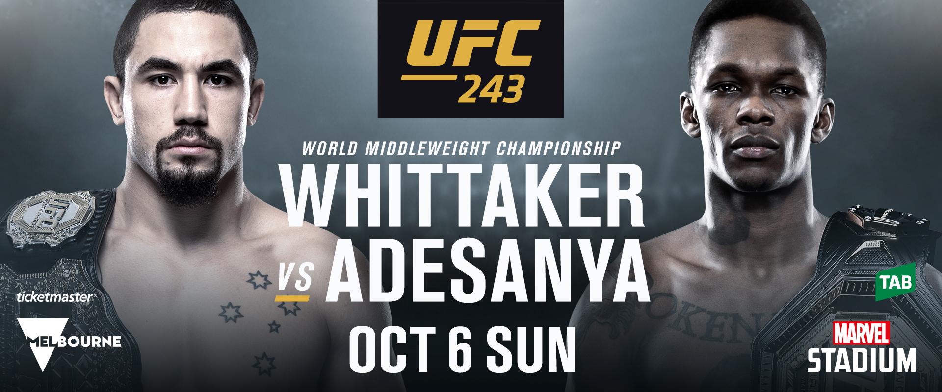 UFC 243 | UFC