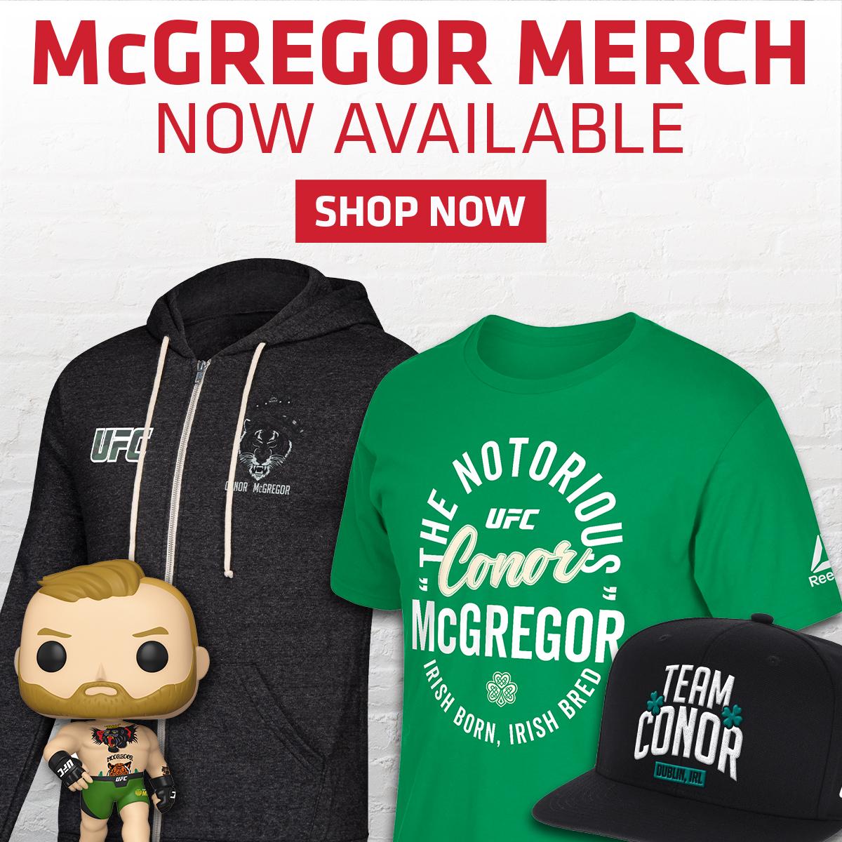 Conor McGregor Merchandise UFC Store