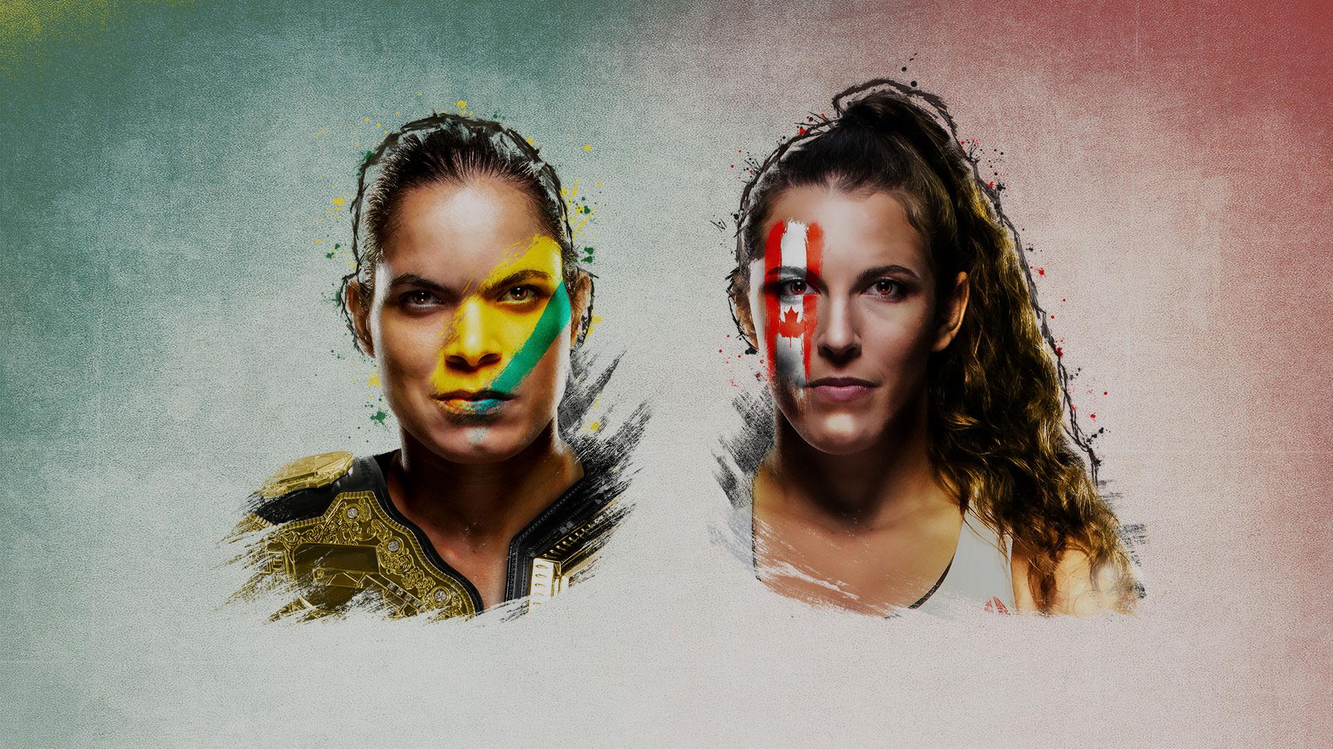 UFC 250 Nunes vs Spencer Promotional Image