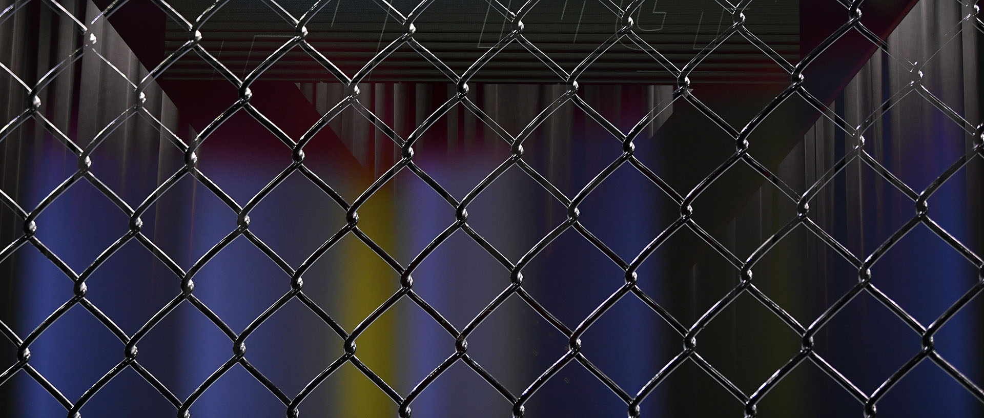 Octagon Fence Close-Up