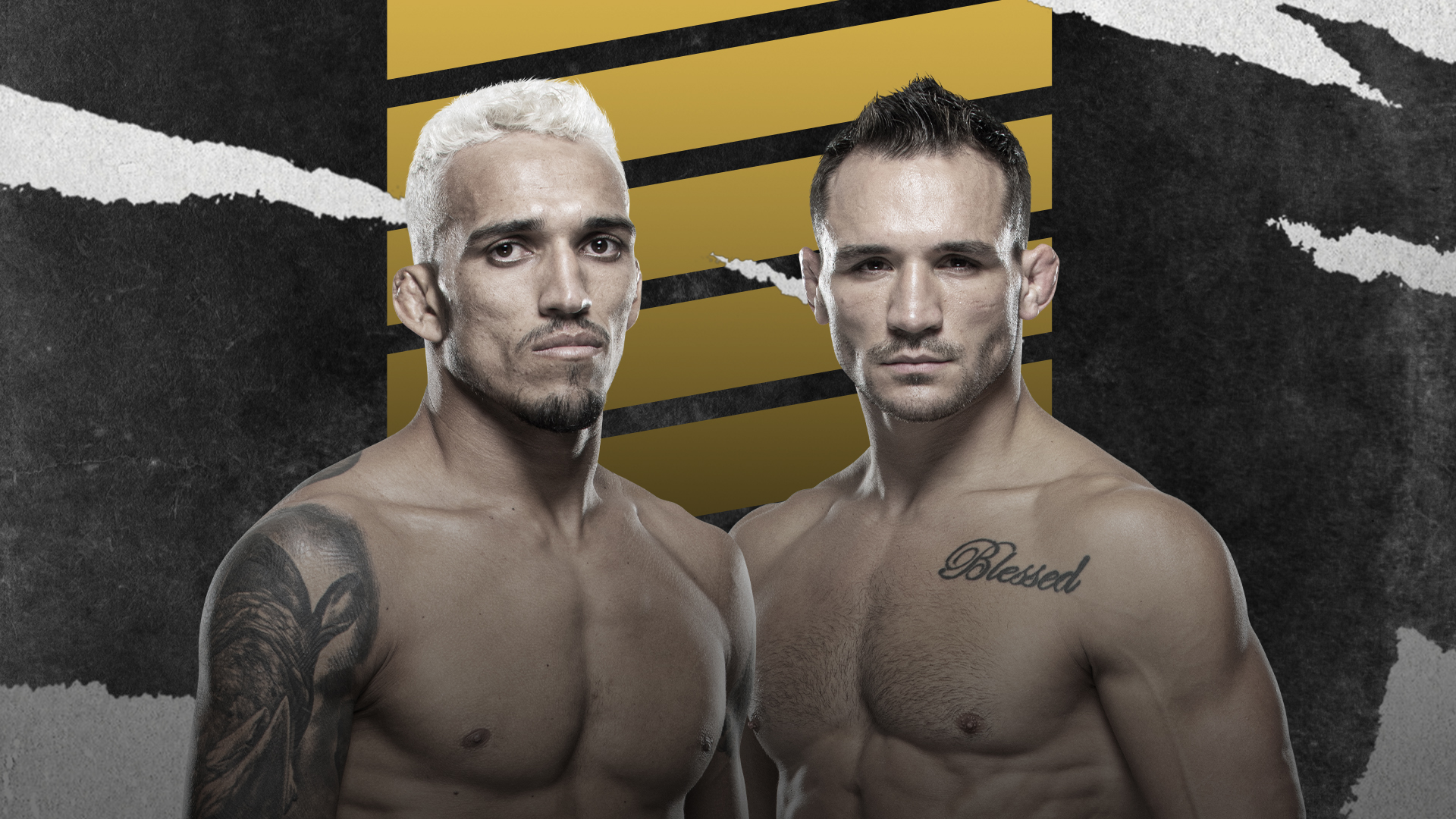 UFC 262 CHARLES OLIVEIRA VS MICHAEL CHANDLER HERO