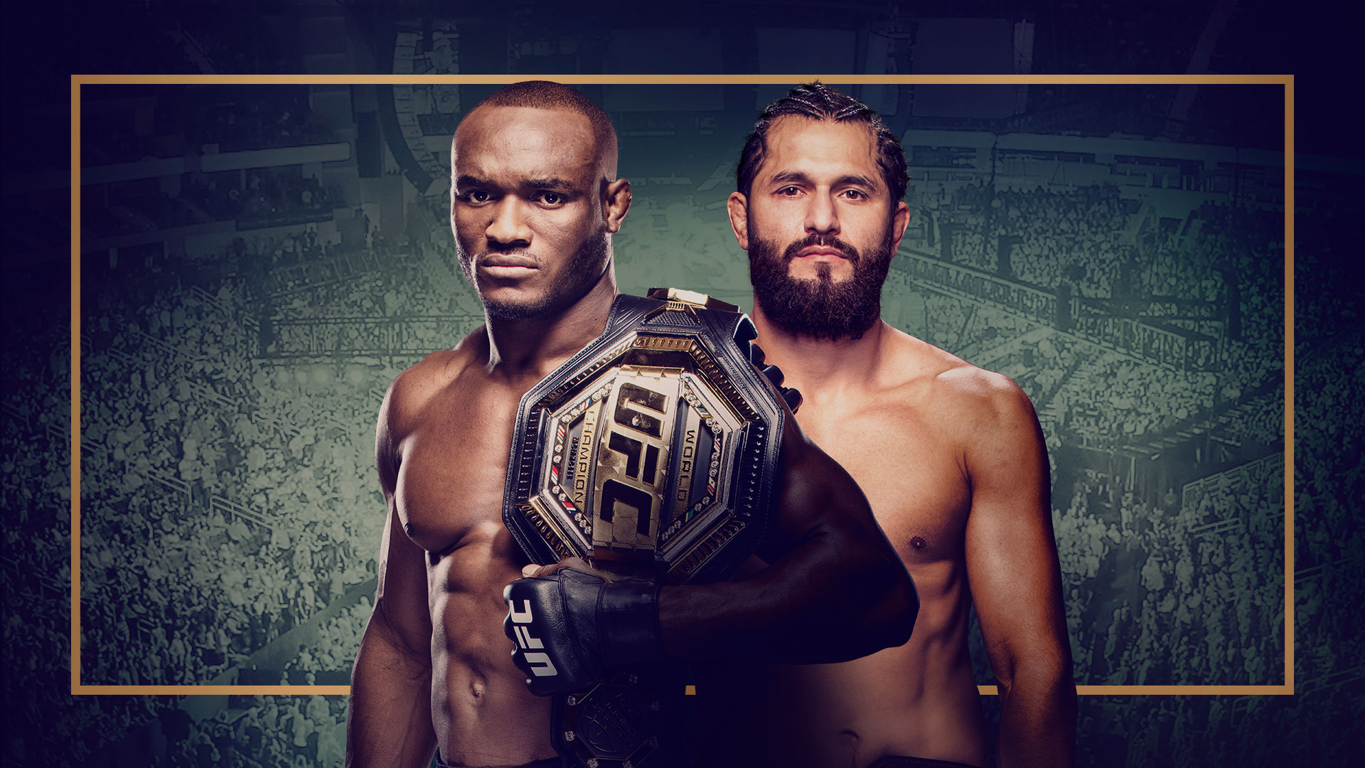 UFC 261 KAMARU USMAN VS JORGE MASVIDAL 2 HERO