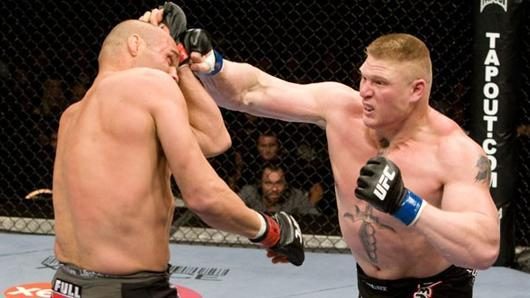 Most Hyped UFC Fights Brock VS Couture