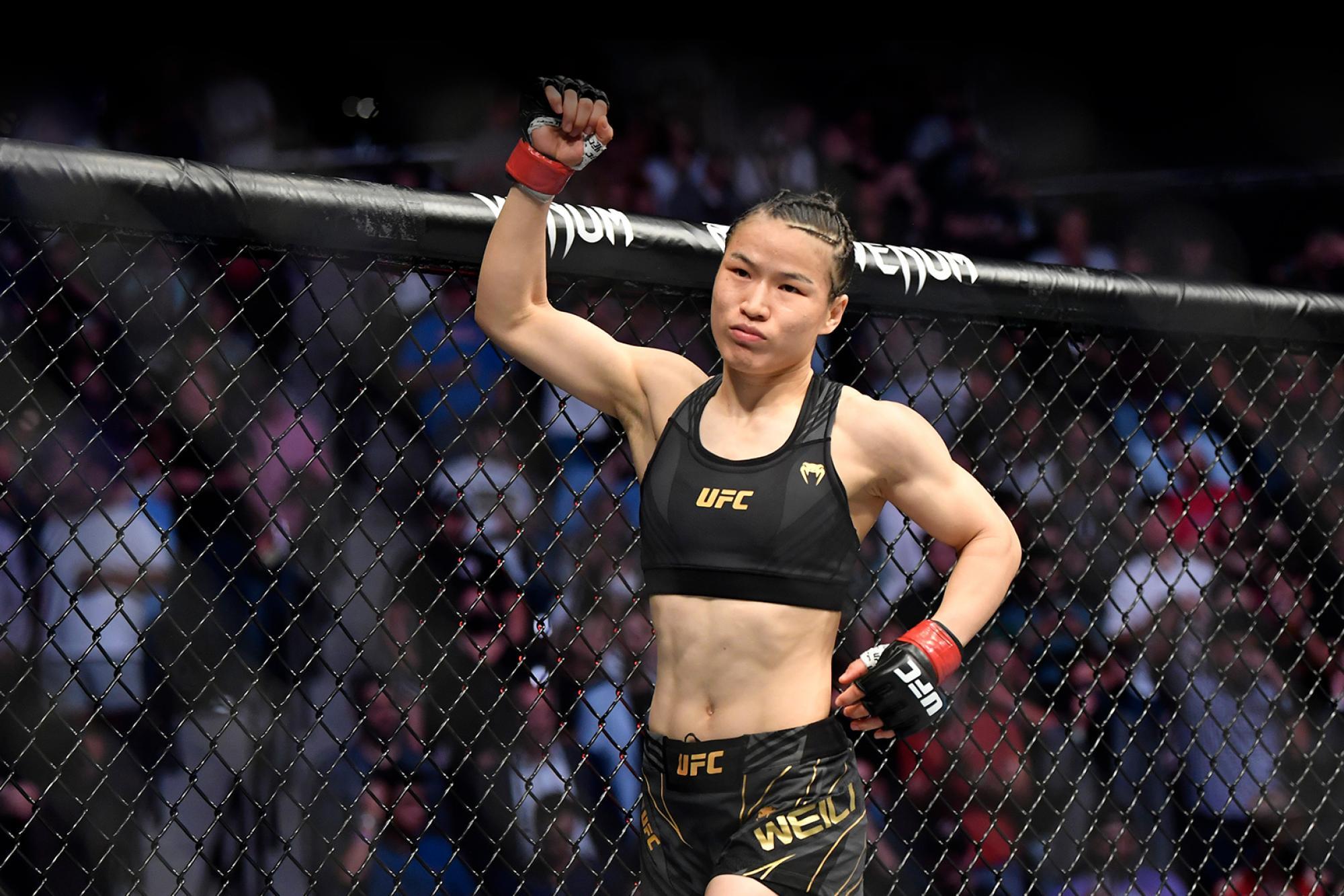Zhang Weili   UFC