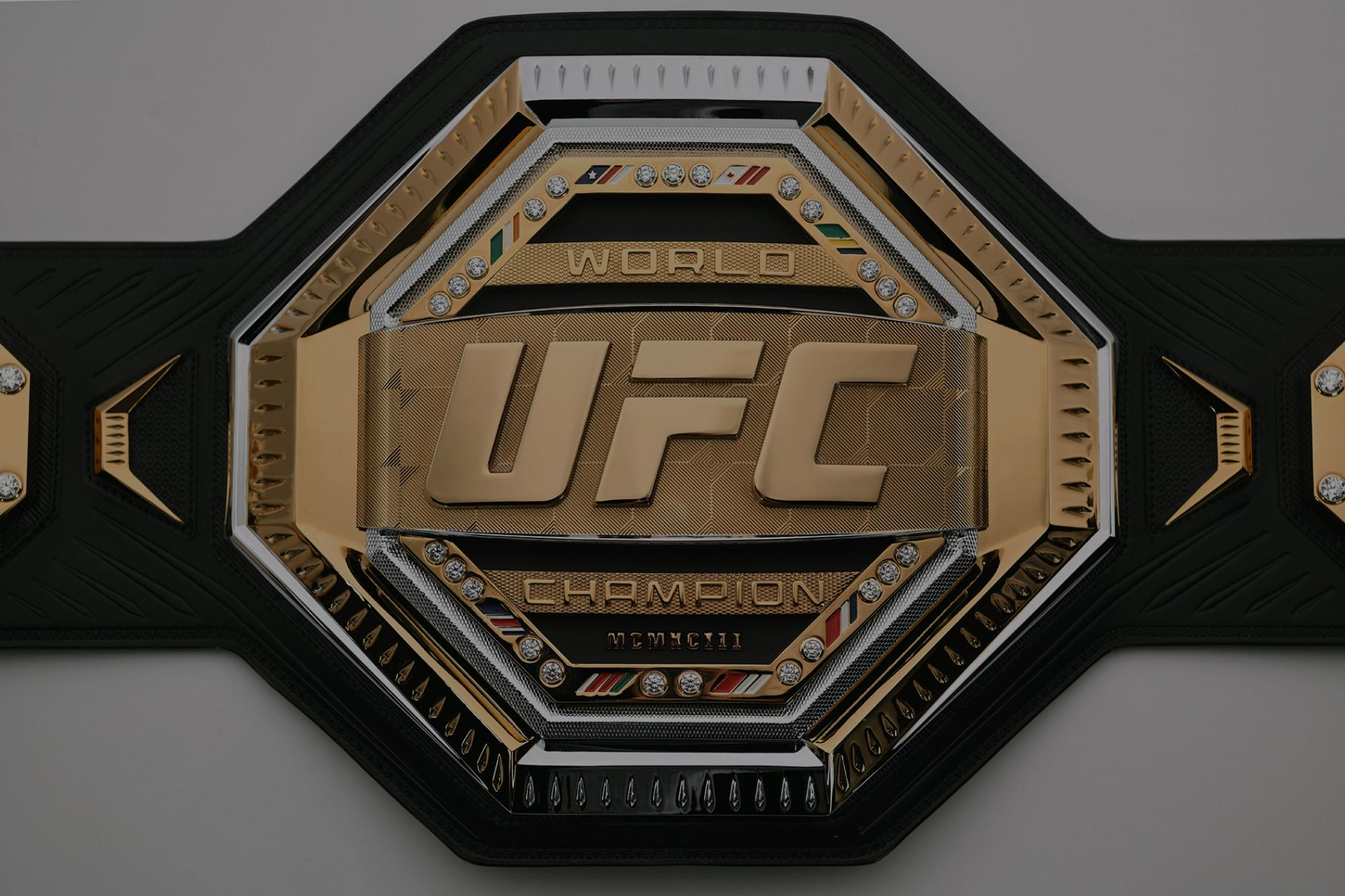 Introducing The Ufc Legacy Championship Belt Ufc