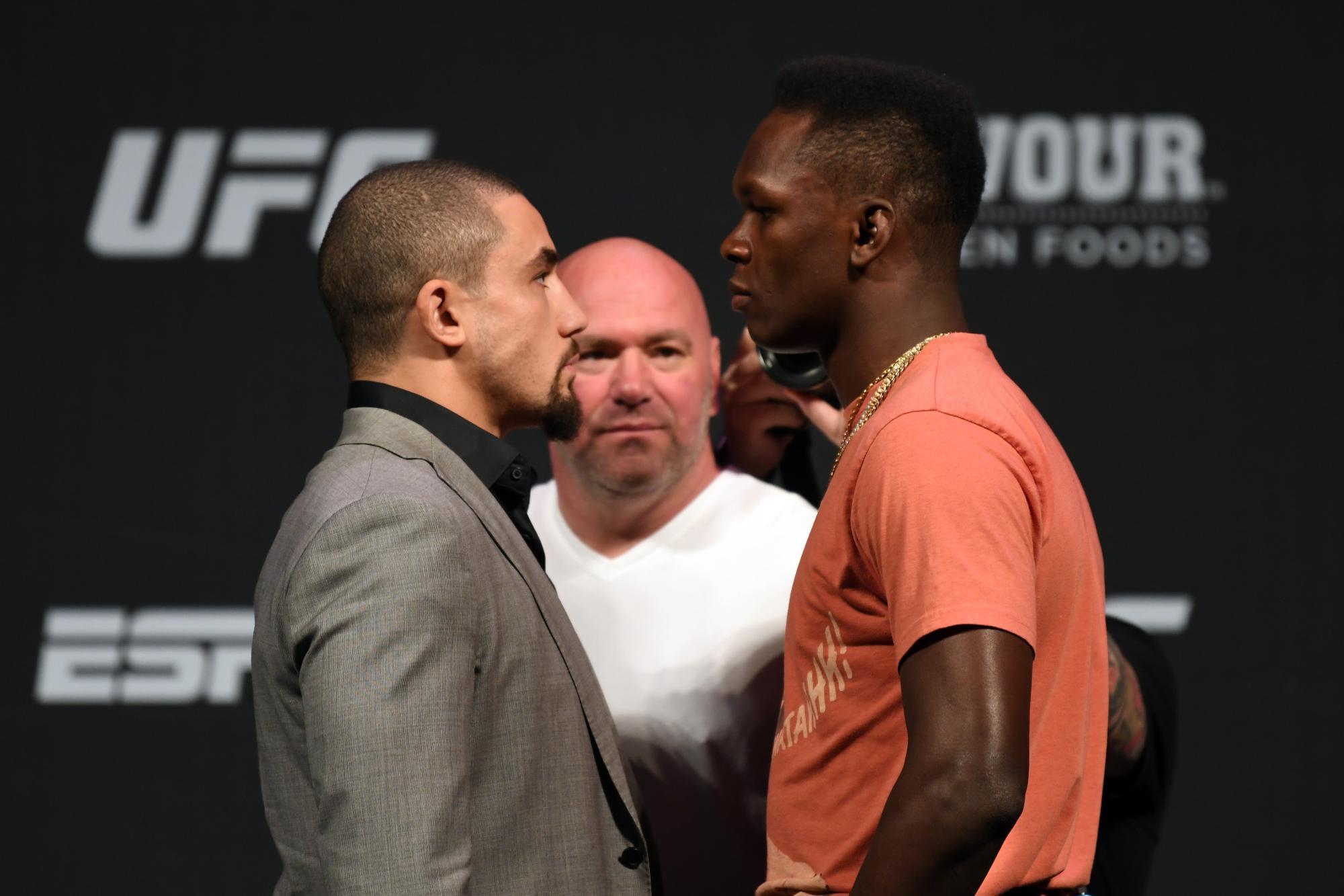 Whittaker Vs Adesanya To Headline UFC 243 | UFC