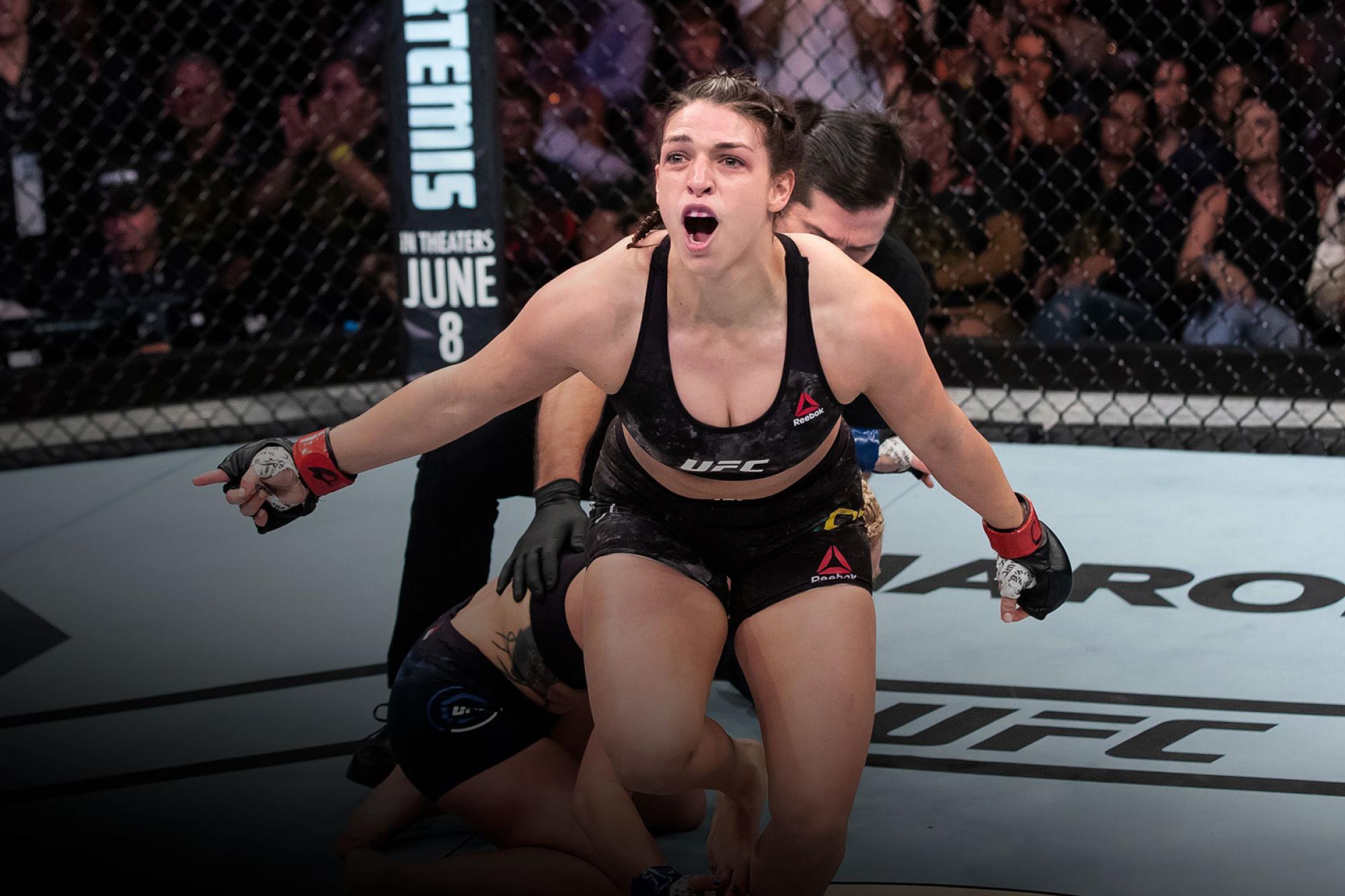 Mackenzie Dern Doesn't Want To Taste Defeat Again | UFC